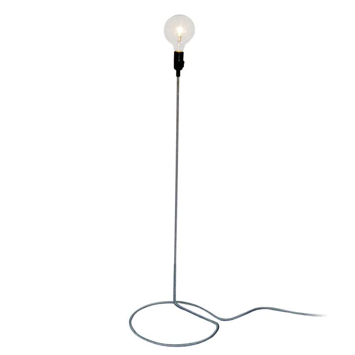 Design House Stockholm - Cord Lamp Floor lamp in black