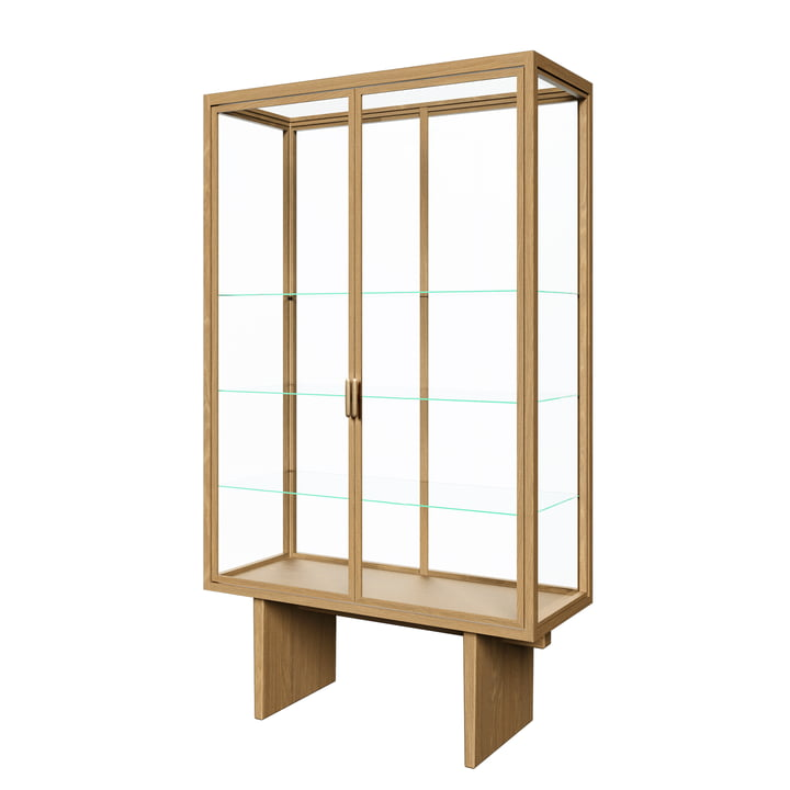 Private Display cabinet, H 191 cm, natural from Gubi