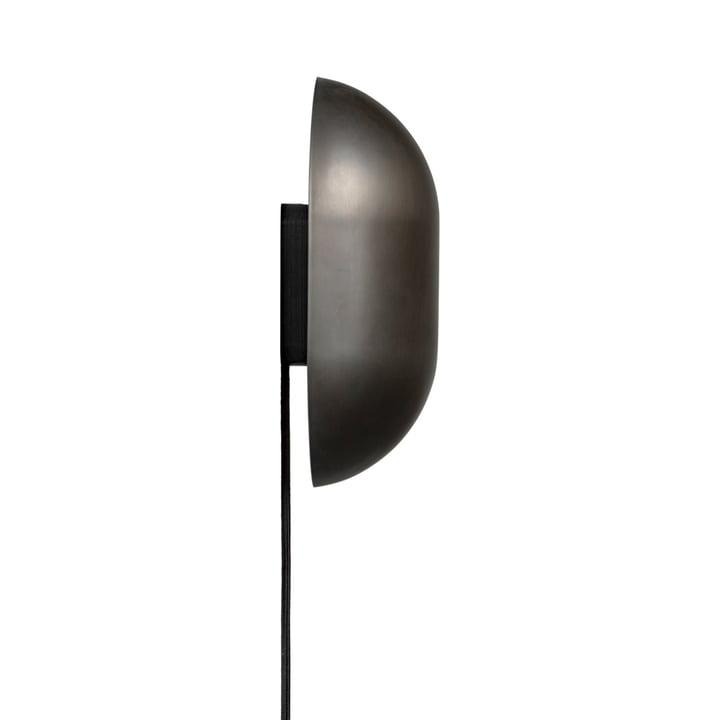 Howard Wall lamp, gunmetal (matt) from Gubi