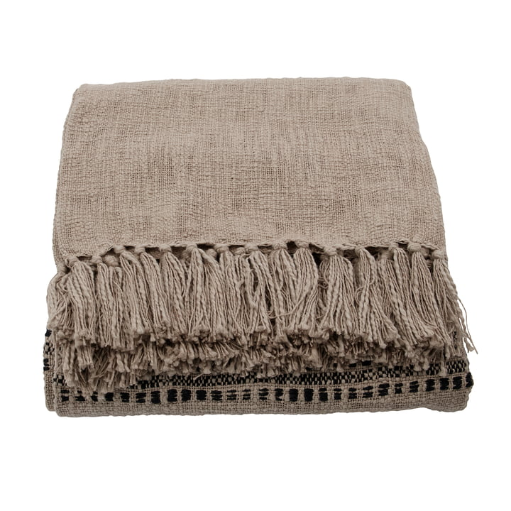 Kolonia Blanket 180 x 130 cm from House Doctor in sand
