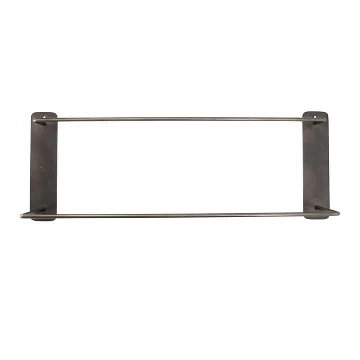 Pati Towel rail double from House Doctor in black antique