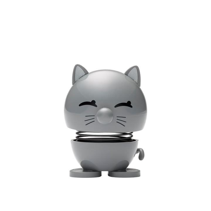 Cat, small / cool grey by Hoptimist