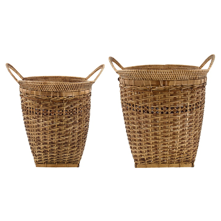 Pura Storage baskets from House Doctor in natural (set of 2)