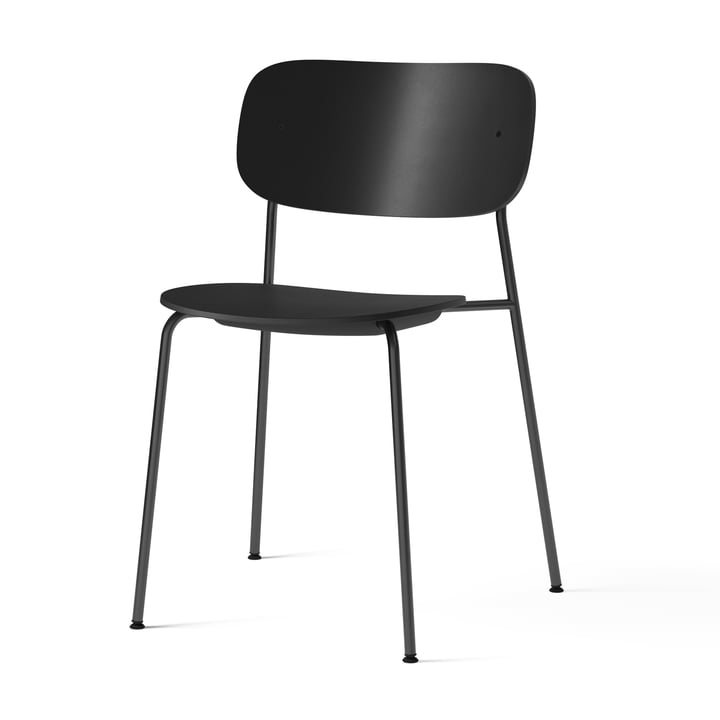 Co Dining Recycled Plastic Chair, black by Menu
