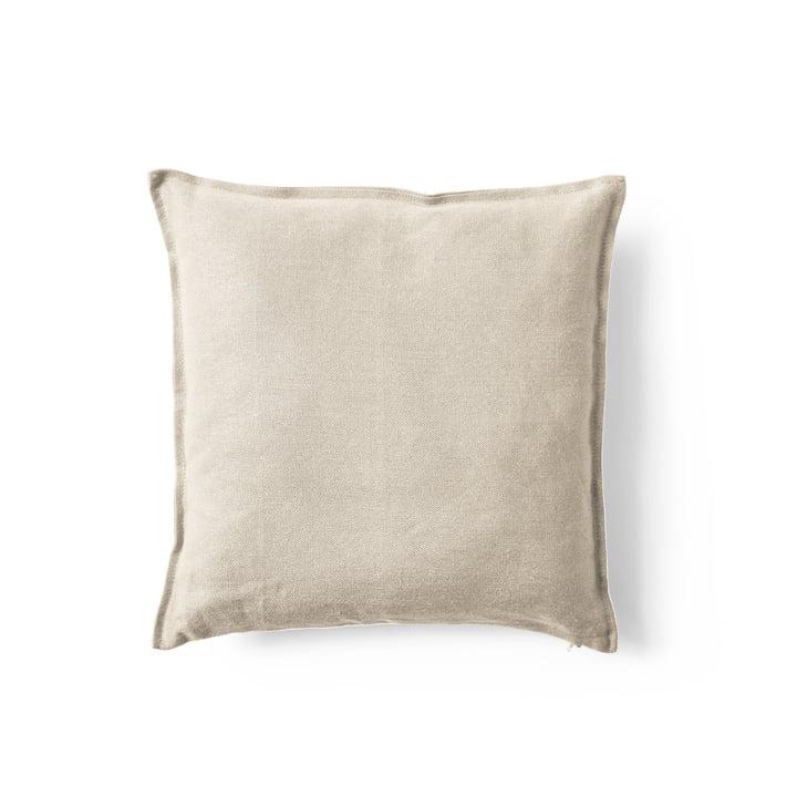 Mimoides Linen cushion, 40 x 40 cm, birch from Menu