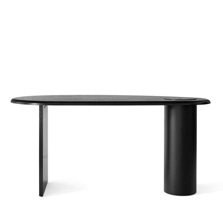 Eclipse Desk, dark oak / black from Menu