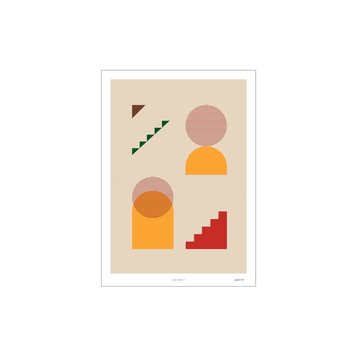 Lunar Series Poster 01 from Paper Collective , 30 x 40 cm