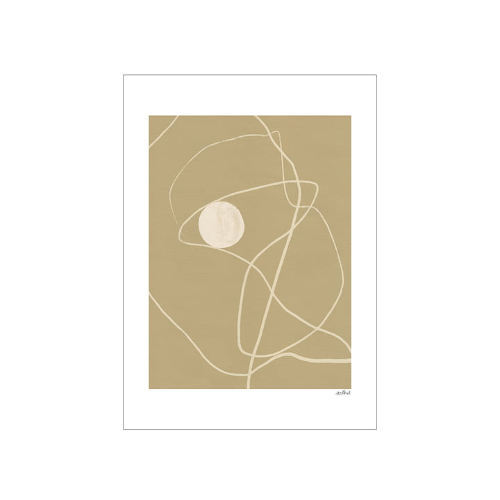 Little Pearl Poster from Paper Collective in 50 x 70 cm