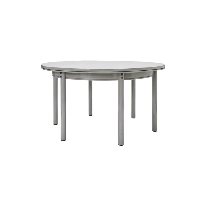 Barki Dining table lacquered from House Doctor in grey