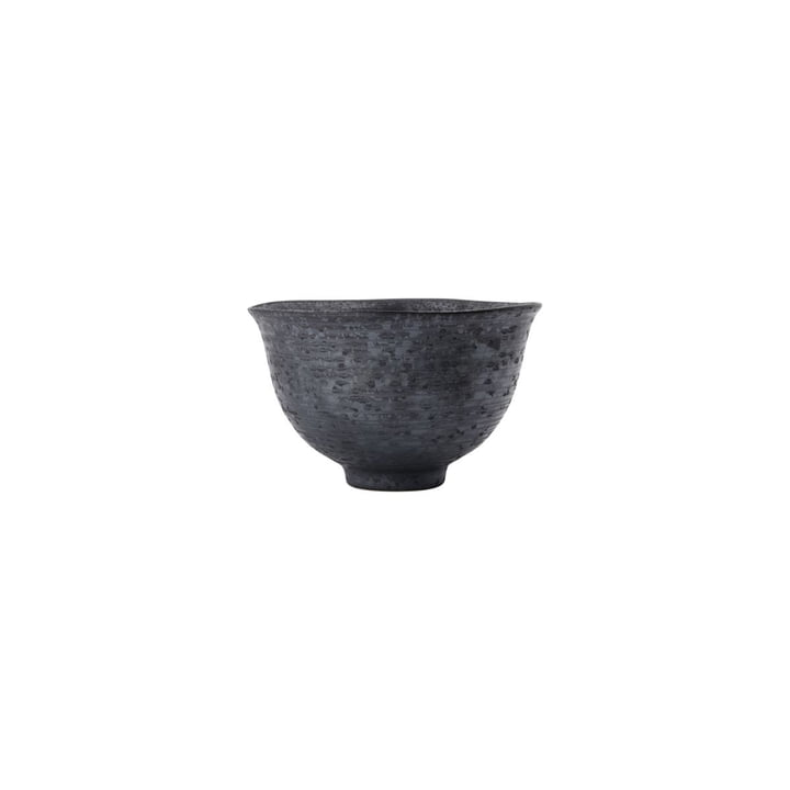 Pion Bowl Ø 1 9. 5 x H 1 1. 5 cm from House Doctor , black / brown
