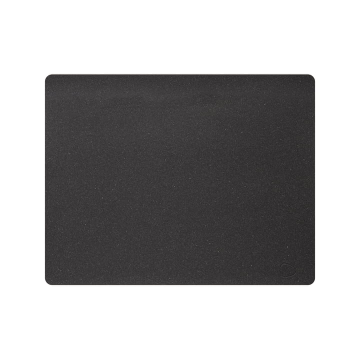 Placemat Square L 35 x 45 cm, Core mottled anthracite from LindDNA