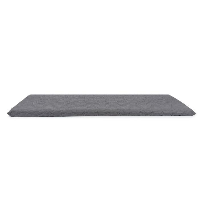 Monaco Play mattress from Nobodinoz in slate grey