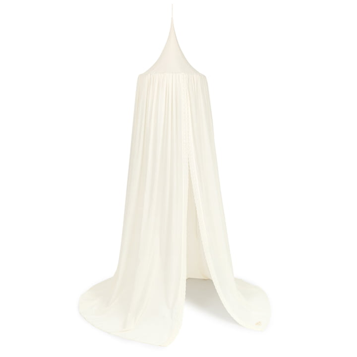 Vera eyelet lace Canopy, 250 x 50 cm by Nobodinoz in natural