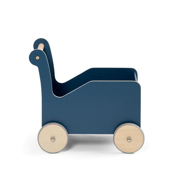 Baby walker by Sebra in nordic blue