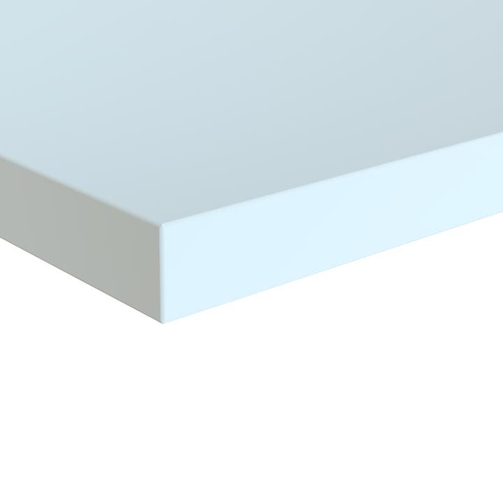 Plato Table top, 70 x 140 cm, white by Müller Möbelwerkstätten