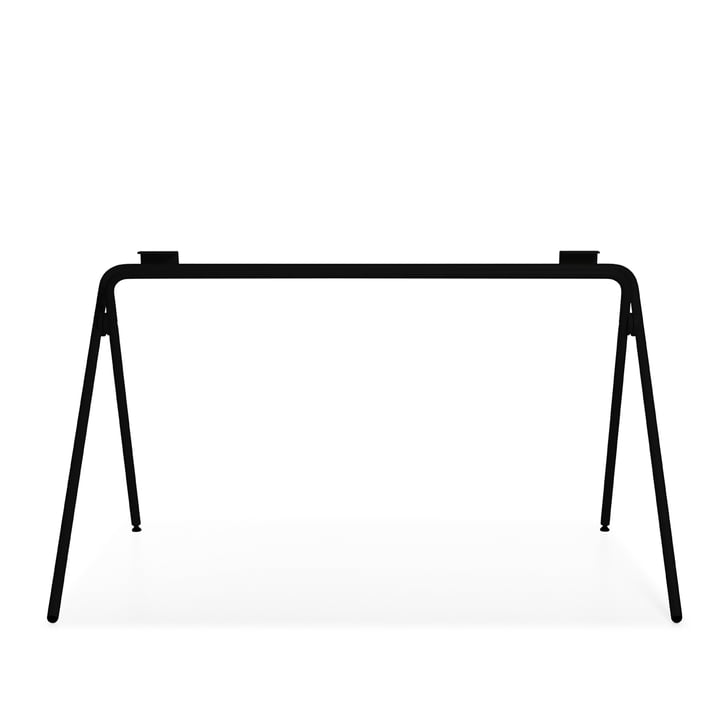 Plato Table frame, black by Müller Möbelwerkstätten
