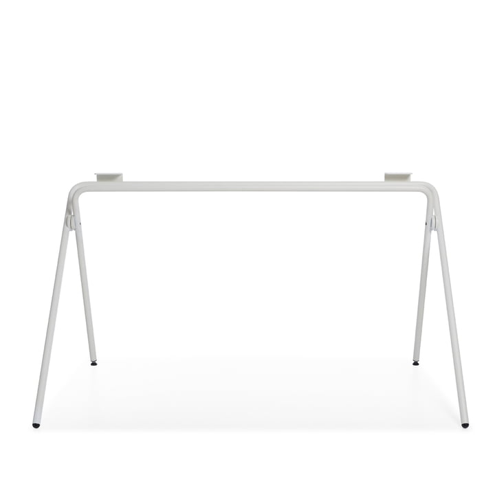 Plato Table frame, white by Müller Möbelwerkstätten