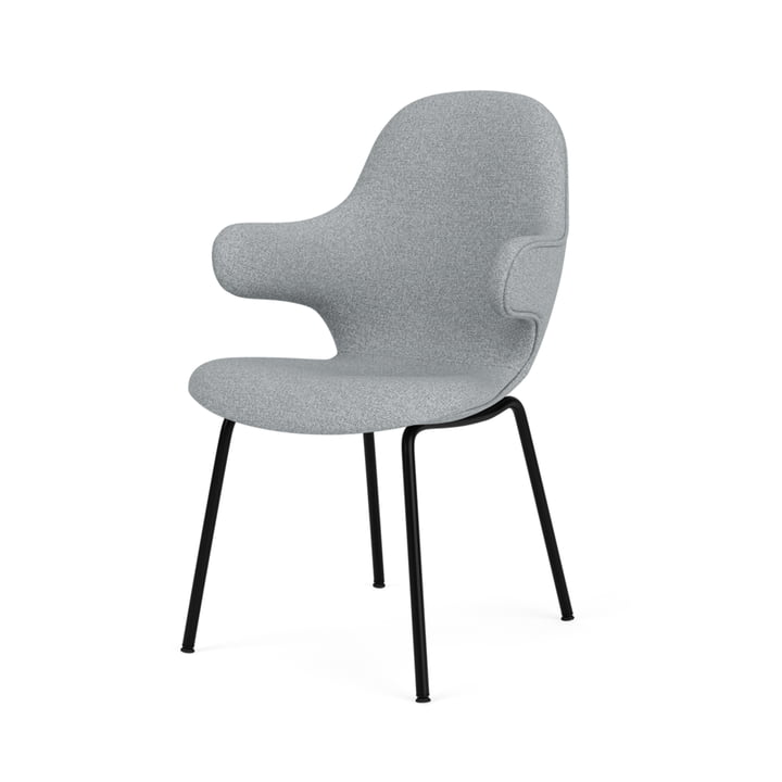 Catch JH15 Armchair, black / grey ( Hallingdal 65 130 ) from & tradition