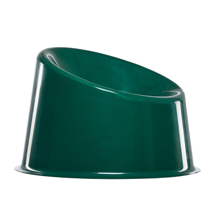 Panto Pop Chair from Verpan in dark green