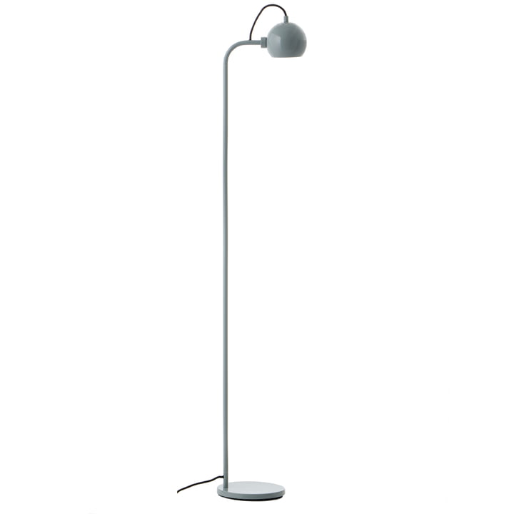 Ball Single Floor lamp, mint glossy from Frandsen