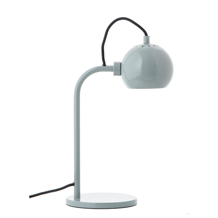 Ball Single Table lamp, mint glossy from Frandsen