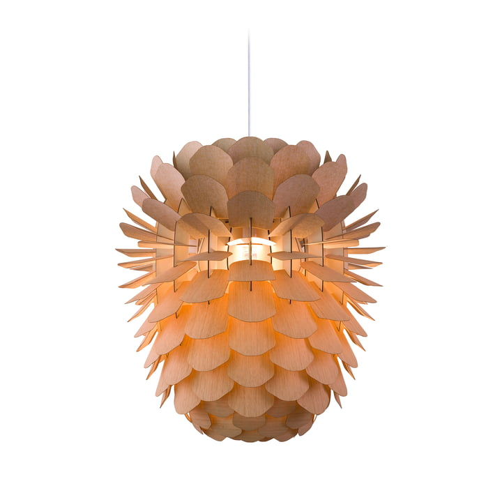 The Schneid - Zappy Pendant Lamp in oak / cable white
