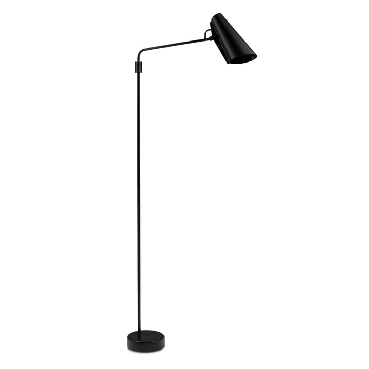 Birdy Swing Floor lamp from Northern in the colour black