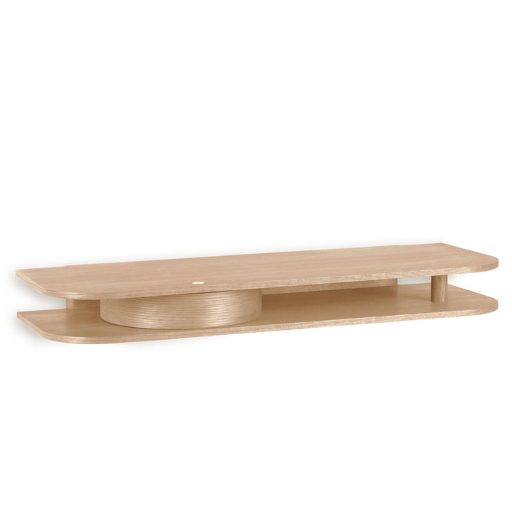 Valet Wall shelf from Northern made of oiled oak