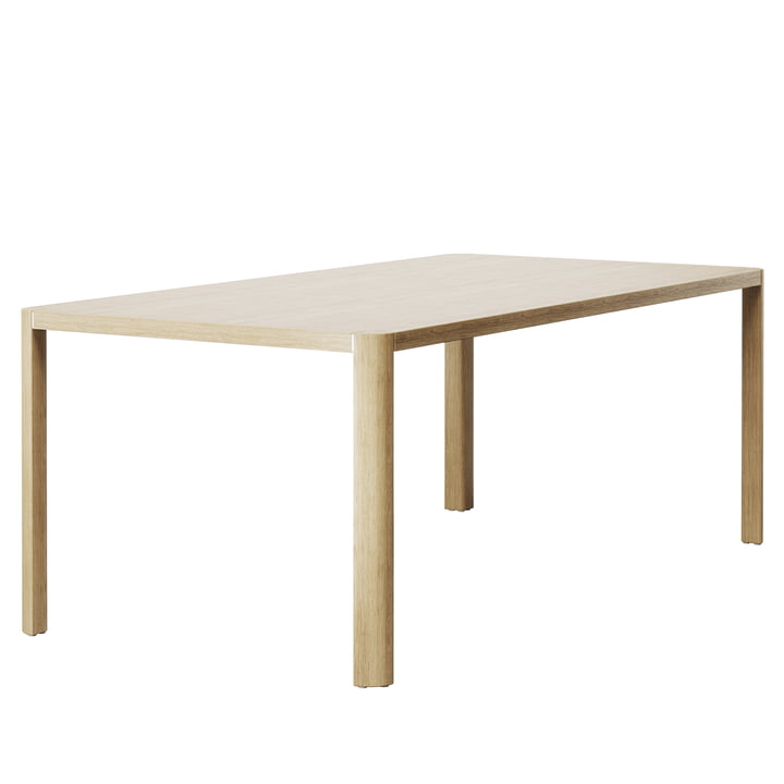 Dining table 1140 200 x 100 cm, oak from Thonet