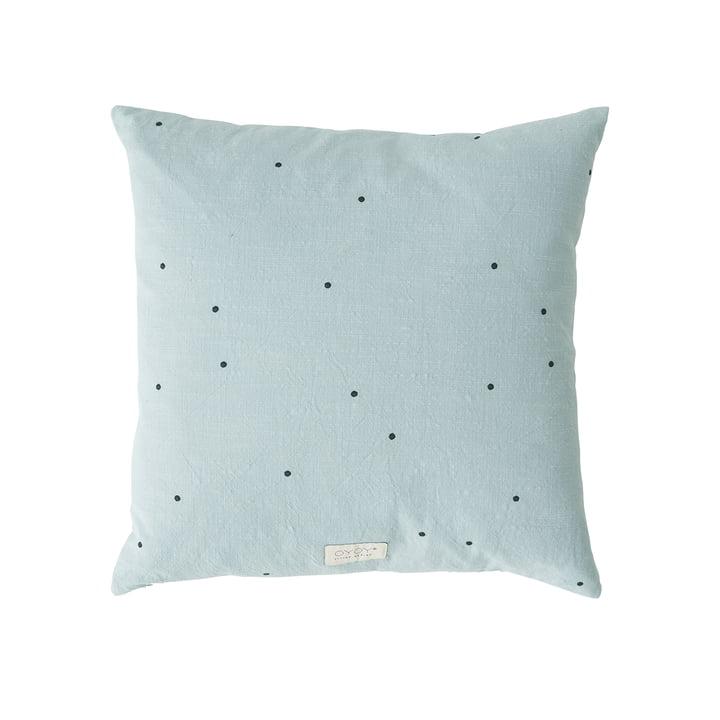 Kyoto Cushion, 50 x 50 cm from OYOY in dusty blue