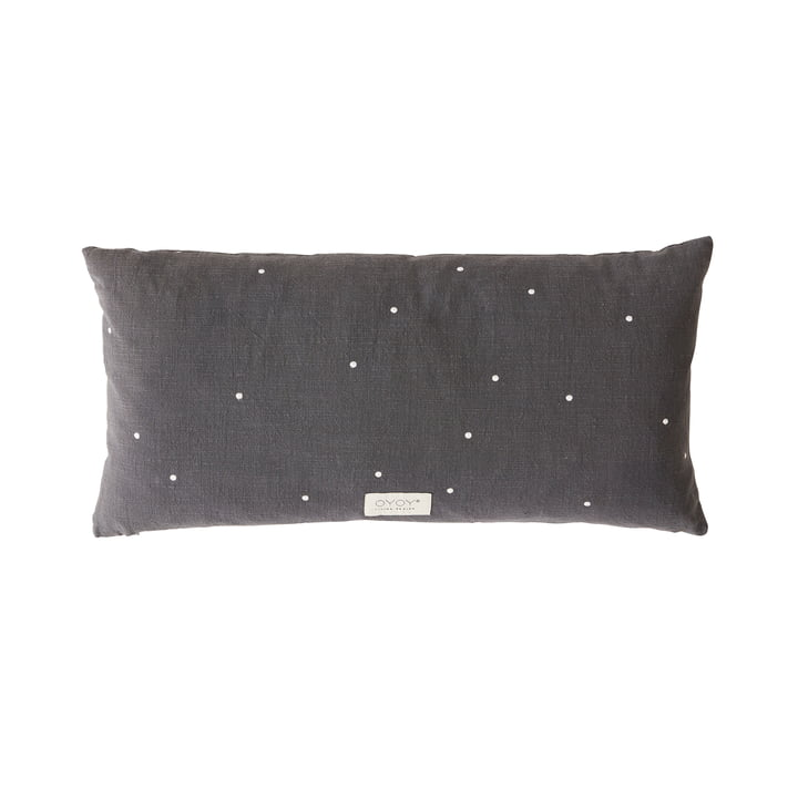 Kyoto Cushion, 30 x 60 cm from OYOY in anthracite