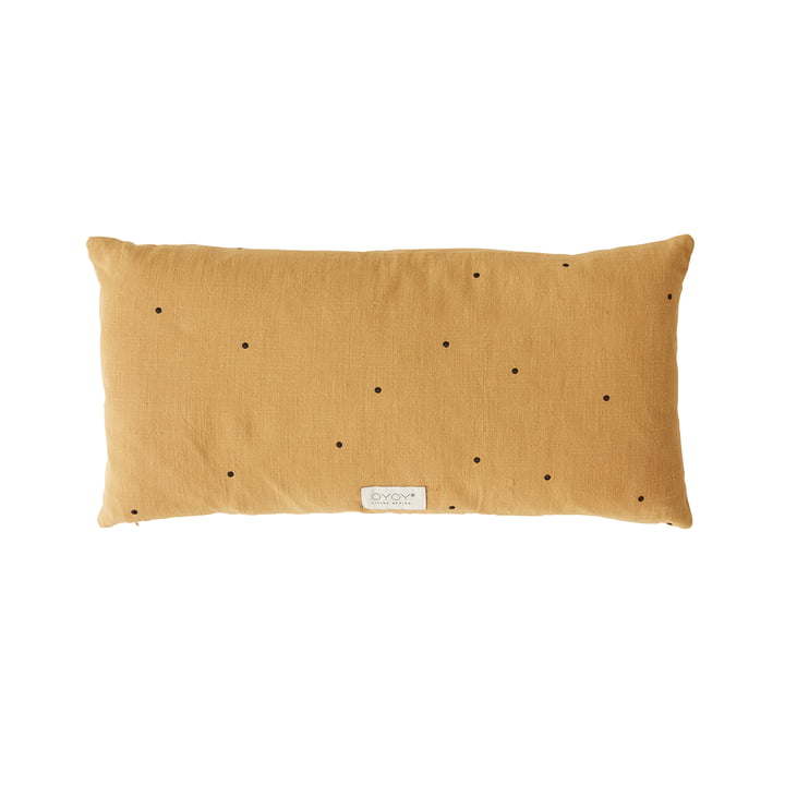 Kyoto Cushion, 30 x 60 cm from OYOY in curry