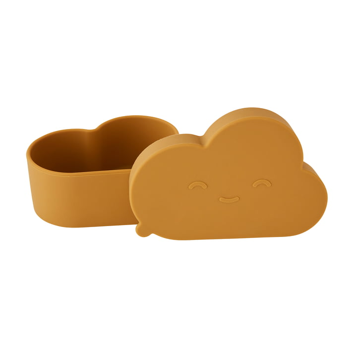 Chloe Cloud Snack tin from OYOY in brown