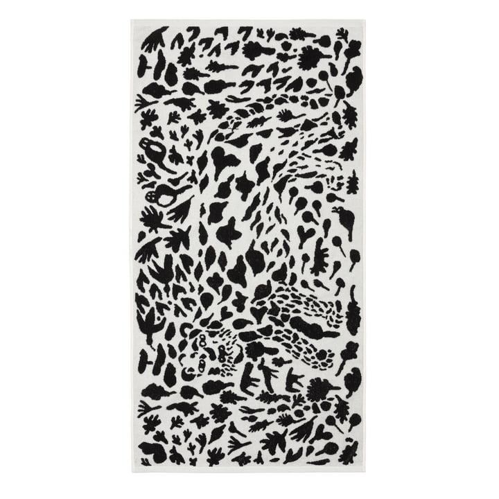 Oiva Toikka Bath towel 70 x 140 cm from Iittala in Cheetah black / white
