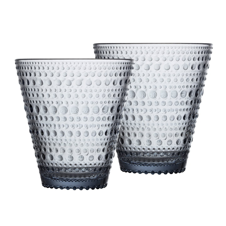 Kastehelmi drinking glass 30 cl from Iittala in the recycled edition (set of 2)