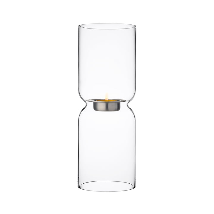 Lantern Candlestick, clear from Iittala