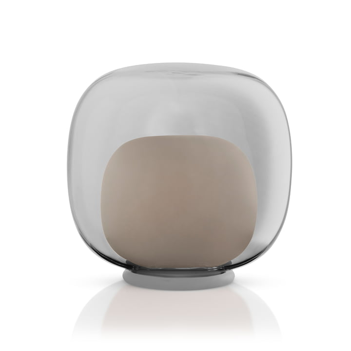LED glass candle holder from Eva Solo in color grey