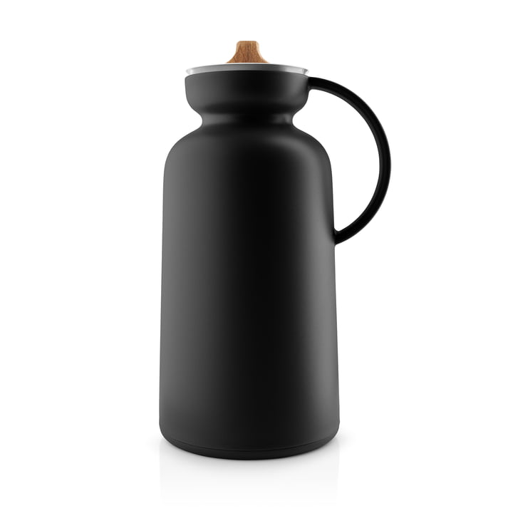 Silhouette Vacuum jug from Eva Solo in the colour black
