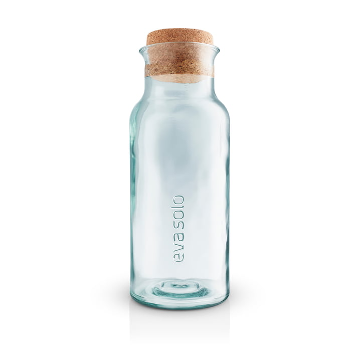 Recycled carafe with cork from Eva Solo