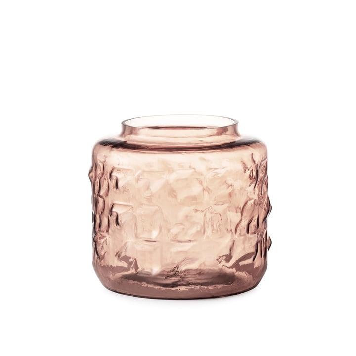 Tombola Vase H 17 cm from Normann Copenhagen in pink