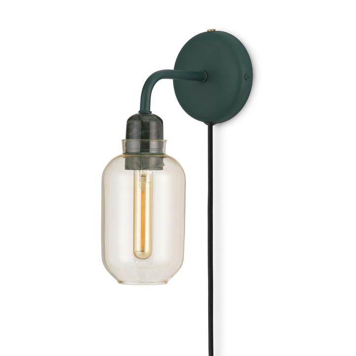 Amp Wall lamp from Normann Copenhagen in gold / green