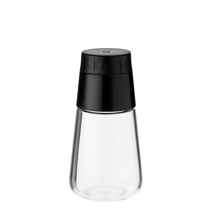 Shake-It Dressing Shaker from Rig-Tig by Stelton in black