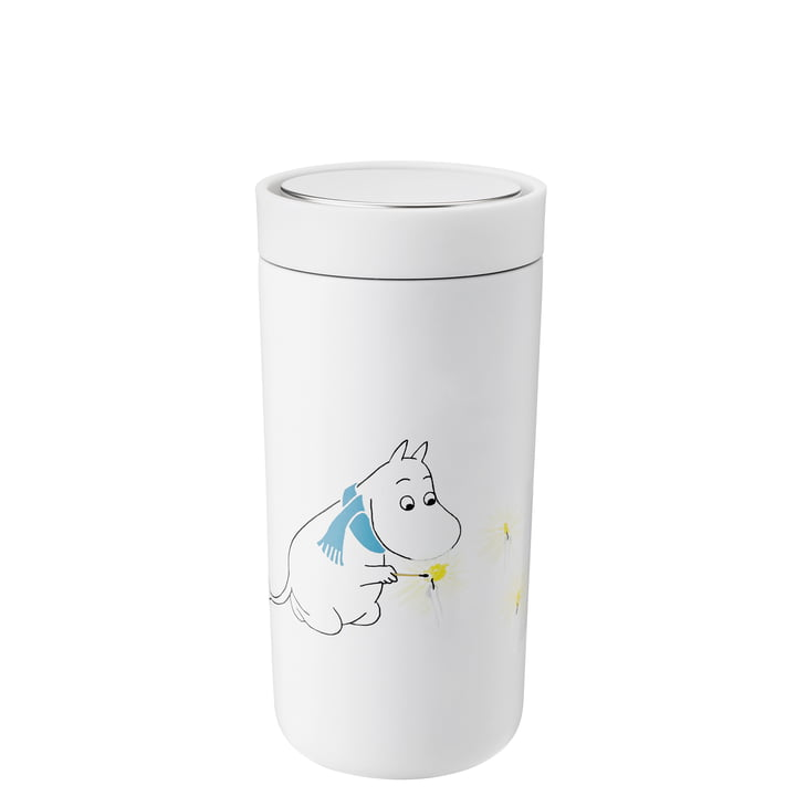 To Go Click Moomin 0,4 l, double-walled from Stelton , frost