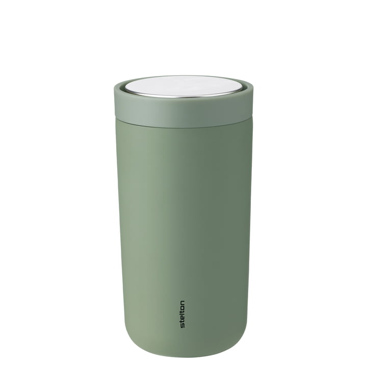 To Go Click 0,4 l, double-walled from Stelton , soft army