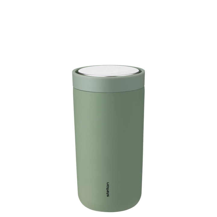 To Go Click 0,2 l, double-walled from Stelton , soft army