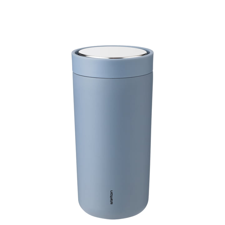 To Go Click 0,4 l, double-walled from Stelton , soft dusty blue