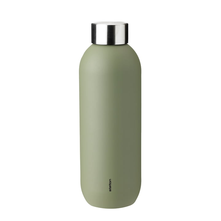 Keep Cool drinking bottle 0,6 l from Stelton in army