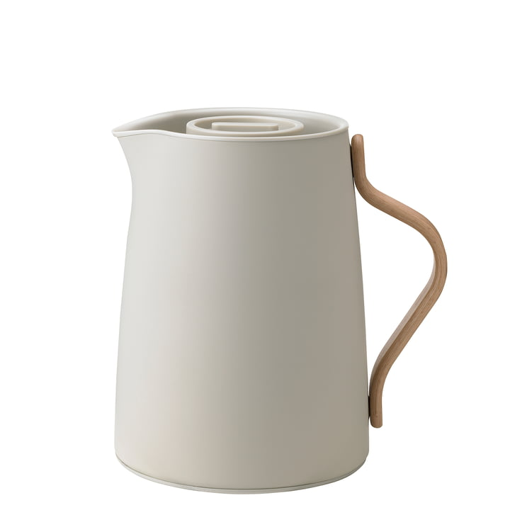 Emma Tea Insulated Pot 1 l from Stelton in soft sand