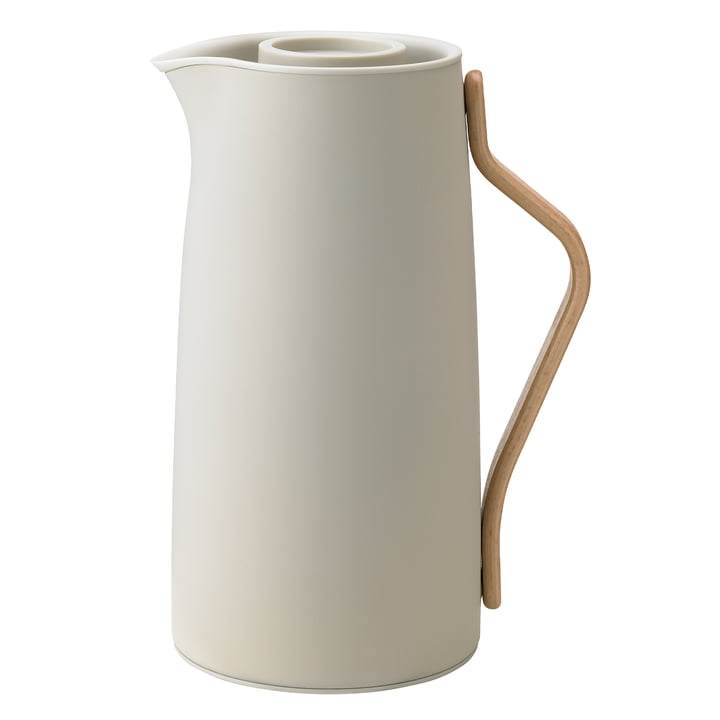 Emma coffee insulated pot 1,2 l from Stelton in soft sand