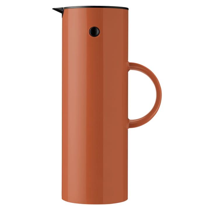 Vacuum jug EM 77, 1 l from Stelton in rust